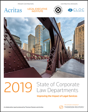 2019 state of corporate law dept