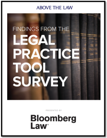Bloomberg Legal Practice Tools Survey Download